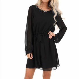 Long sleeve black dress! Never worn!